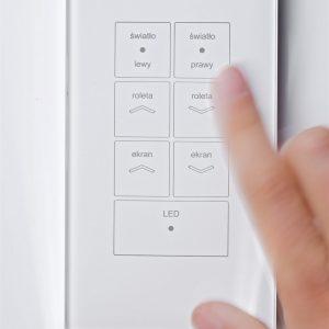 kontakty szklane włączniki światła touch kontakty dotykowe