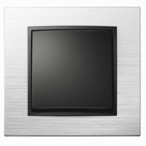 Producent BERKER by HAGER - włączniki i gniazdka tworzywo  biały-czarny
