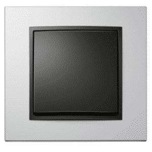 Producent BERKER by HAGER - włączniki i gniazdka aluminium  czarny
