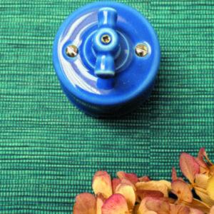 włącznik / wyłącznik światła niebieski