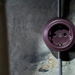 włącznik / wyłącznik światła fioletowy