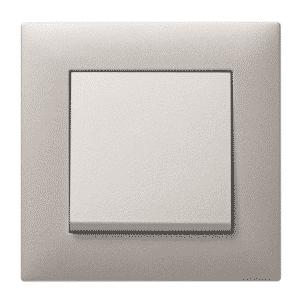 srebrny mat