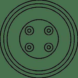 O-gniazdo glośnikowe podwójne